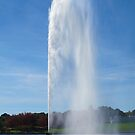 Water Jet Fountain, Canberra by Michael John