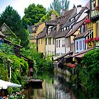 Little Venice, Colmar, Alsace, France by duncananderson