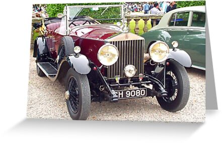 Rolls Royce Open Top Tourer by oulgundog