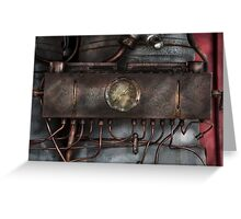 Steampunk - Connections   Greeting Card