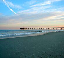 Sunset Sky Wrightsville Beach NC by EddaM