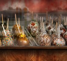 Chef - Caramel apples for sale  by Mike  Savad