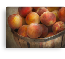 Food - Peaches - Just Peachy Canvas Print