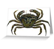 Shore crab Greeting Card