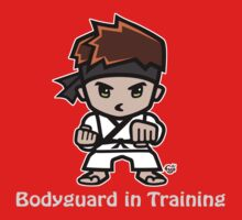 Martial Arts/Karate Boy - Bodyguard (gray font) by fujiapple