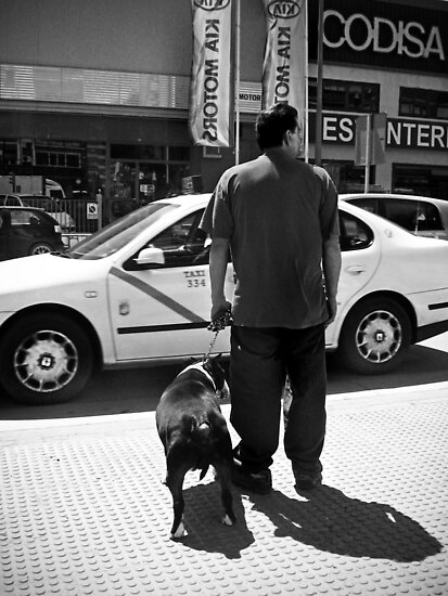 Have you ever noticed that some people look like their dog? by Maria  Gonzalez
