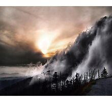 Smoky Mountain Fog Photographic Print