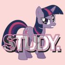 Twilight Sparkle - Study. by Strangetalk