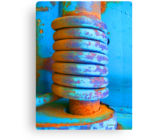 Coiled and Collected... Canvas Print