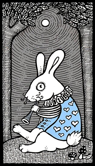 White Rabbit Fanfare by Anita Inverarity