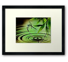 A Drop of Time Framed Print