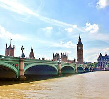 Westminster Bridge #2 by Matthew Floyd