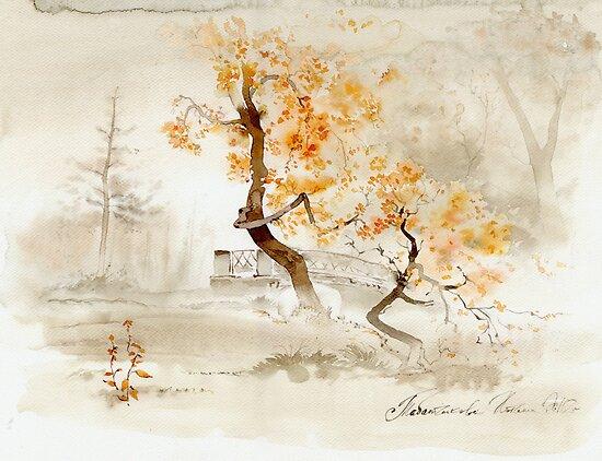 Осенний парк Наташи Tabatchikova