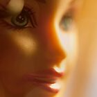 bokeh barbie by Hege Nolan