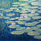 Water Lily pond  by olivia-art
