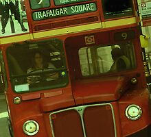 London Bus by Louise Fahy
