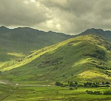 Langdale Skyline by VoluntaryRanger