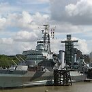 HMS Belfast by ValeriesGallery