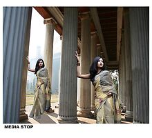 saree shoot 10 by ranjay