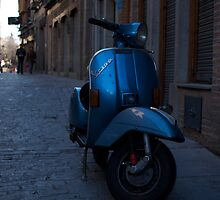 Vespa in Toledo, Spain by sarchuk63