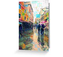 Bella Venezia VI Greeting Card