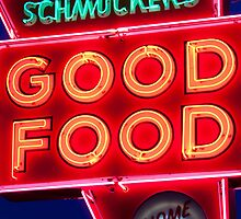 """Good Food"" Diner by John Hartung"