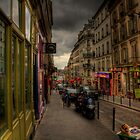 Street in Paris by sarchuk63