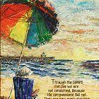 Umbrella Sunrise- Lamentations 3:22-23 by Janis Lee Colon