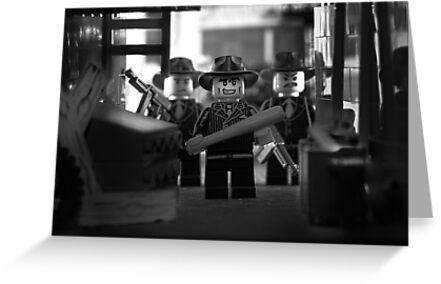 Lego Mobster by Kevin  Poulton - aka 'Sad Old Biker'