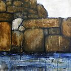 Stone Wall by Karen King