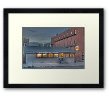 Frank and Mary's Diner - Cortland, NY Framed Print