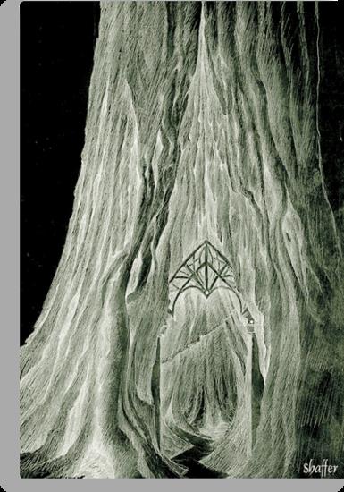 Lothlorian Mallorn Tree 2 by Curtiss Shaffer