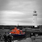 Donaghadee Lighthouse by Chris Cardwell