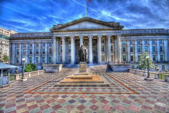 The Treasury Department - Washington DC by Edvin  Milkunic