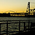 Portland Sunset by R. Albisurez