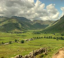 Langdale...Summer Days by Jamie  Green