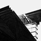 glass sky wood by dennis william gaylor