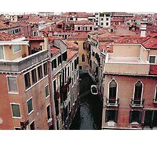 VENEZIA e un suo Rio.italy - europa - 3500 visualizzaz.agosto 2013 . Featured in Italia 500+-. VETRINA RB EXPLORE  5 MARZO 2012 -       Photographic Print