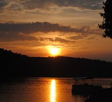 Sunset - Lake Keowee, Seneca SC by James Fritz