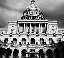 US Capital in b&w by Paul Anderson