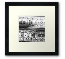 P1430781 _Luminance _Rasterbator _XnView _GIMP Framed Print