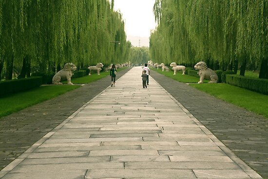 The Ming Tombs - The Spirit Way by © Hany G. Jadaa © Prince John Photography