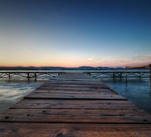 Balaton Pier by Conor MacNeill