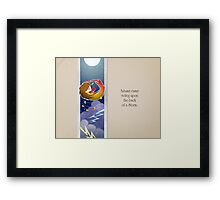The Coming of Autumn Framed Print