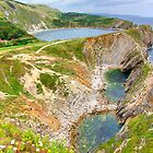 Stair Hole and Lulworth Cove  by Colin J Williams Photography