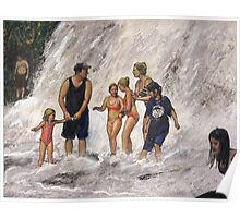 Willow River Falls Poster