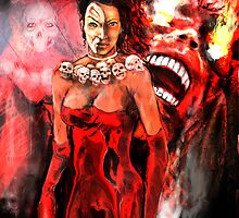 THE DEMON HUNTRESS OBIAMA ! by Ray Jackson