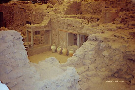 AKROTIRI - Ancient Buried City  by Charmiene Maxwell-batten