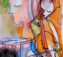 they played Schubert by Loui  Jover