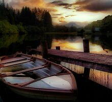 Summer's Sunset,Loch Ard by Aj Finan